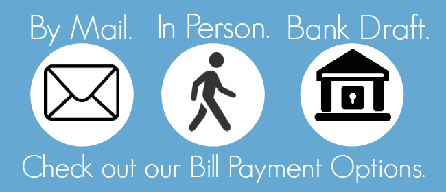 Check out our Bill Payment Options